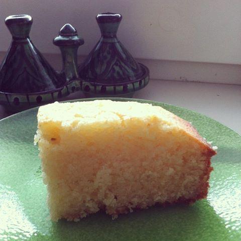 Basbousa – Semolina cake with rose water | DINNER BANK