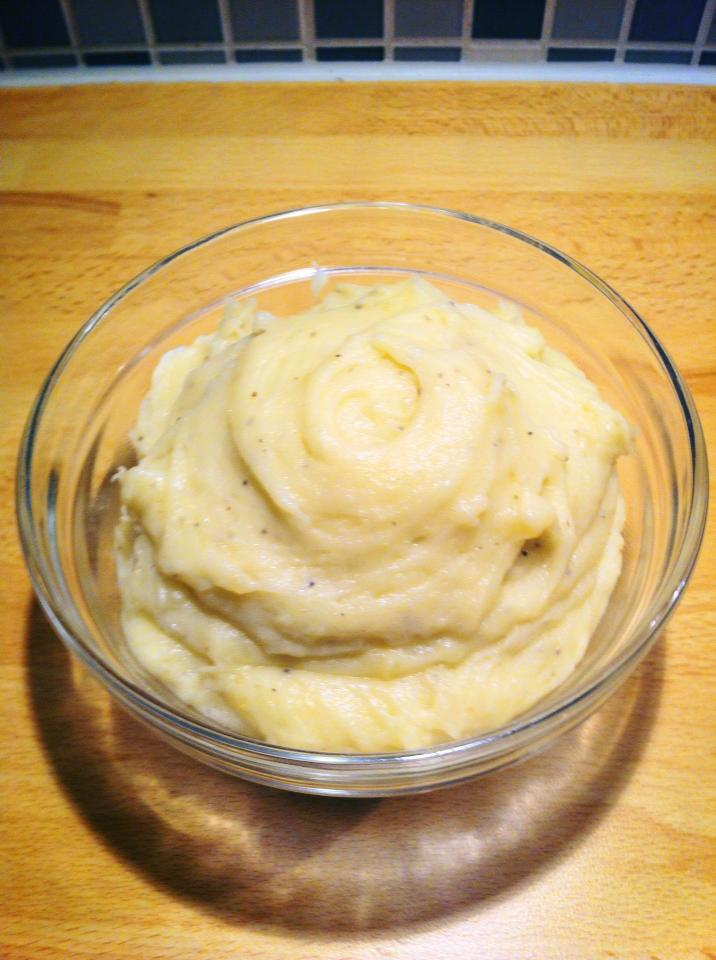 Lemon Potatoe mash