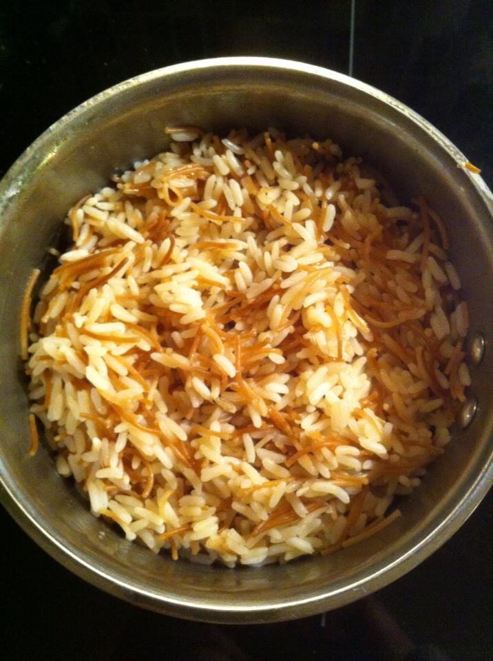 Rice with pasta - Middle east style
