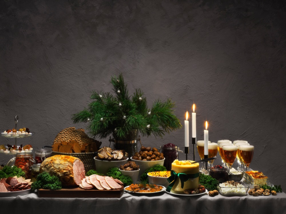 Swedish Christmas table
