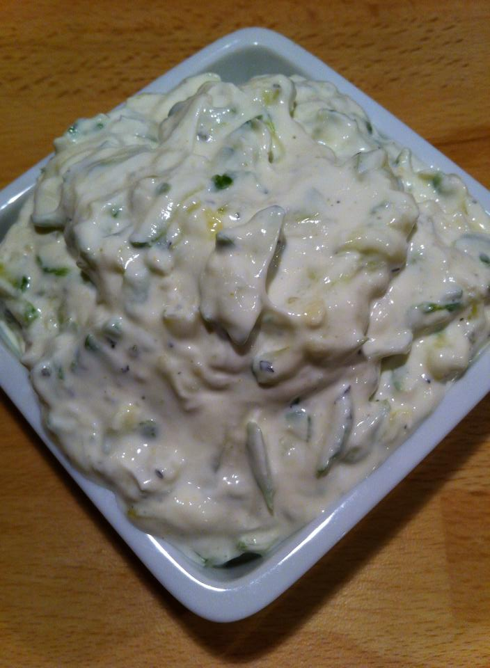 Lemon Tzatziki with mint