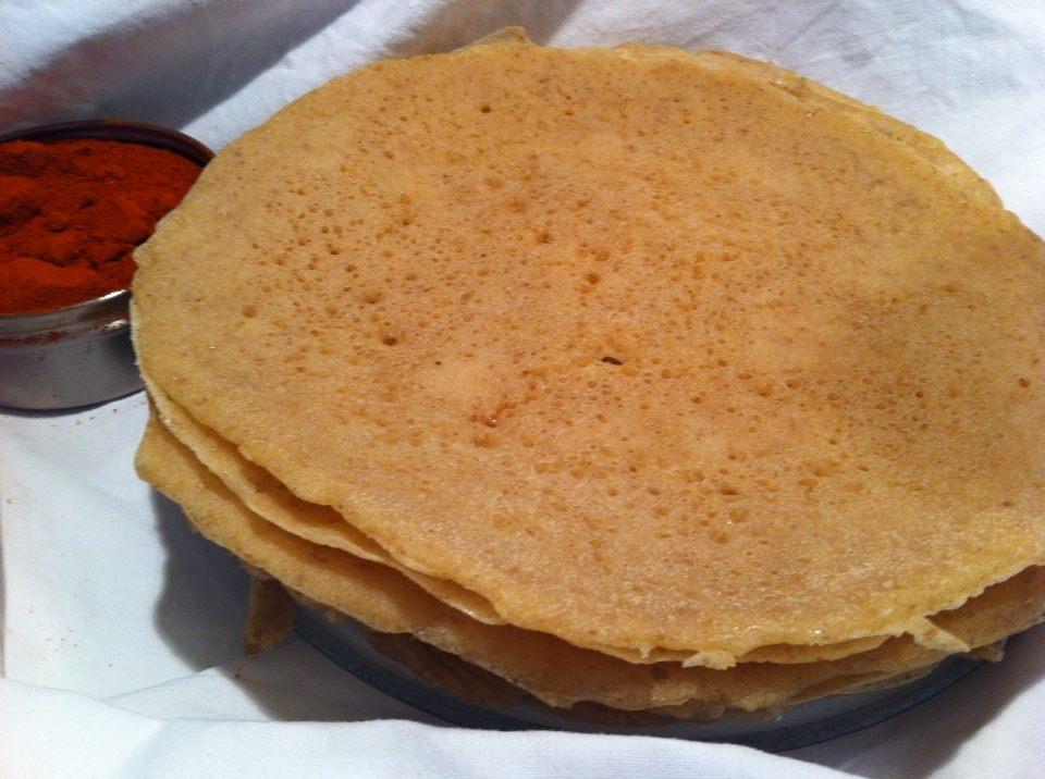 Injera Ethiopian Sourdough Pancake Dinner Bank