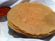 Injera - Ethiopian sourdough pancake